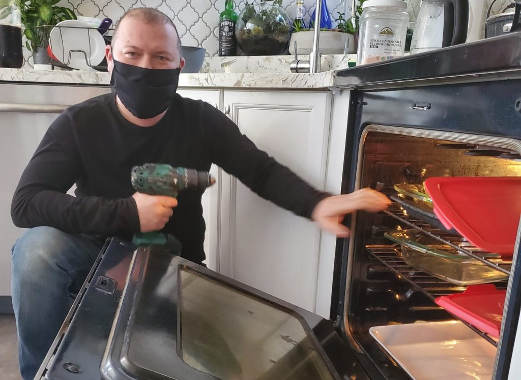 oven repair and install