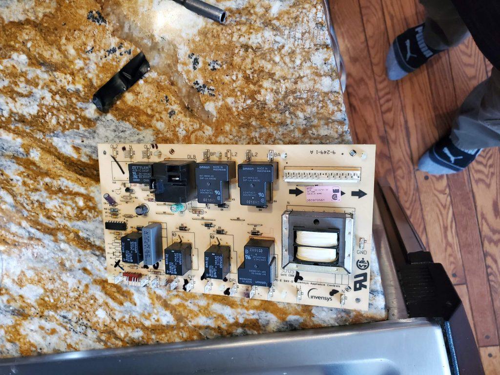 control board stove repair markham