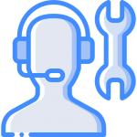 Customer Support icon - appliance repair and installation