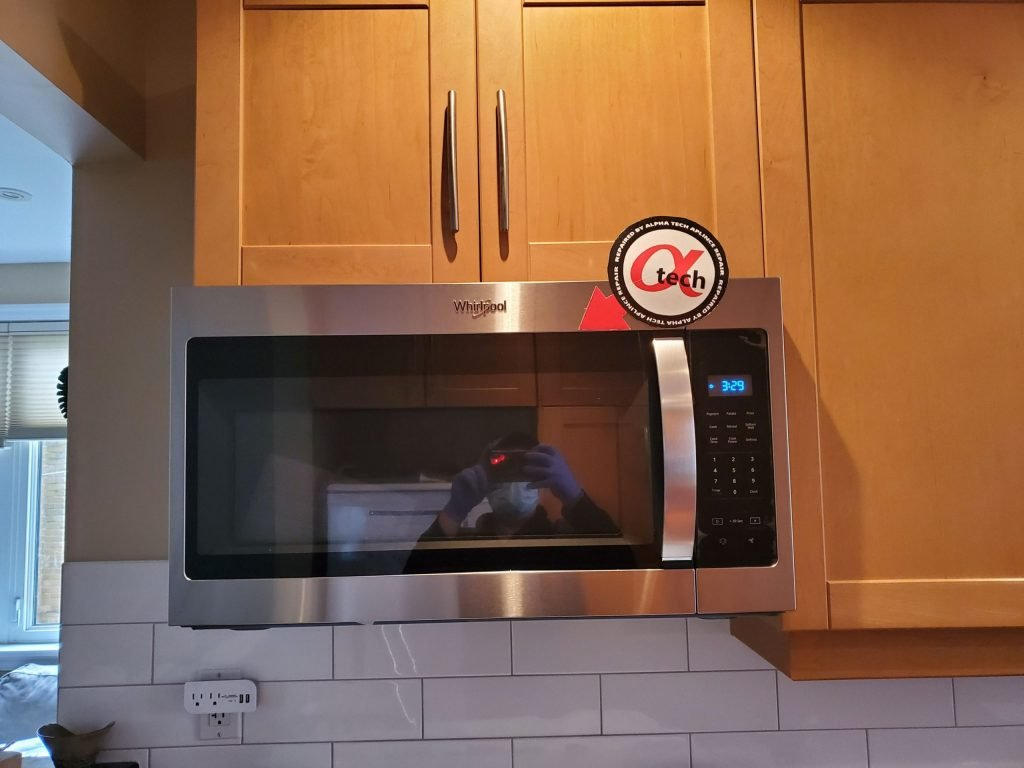 microwave hood installation markham