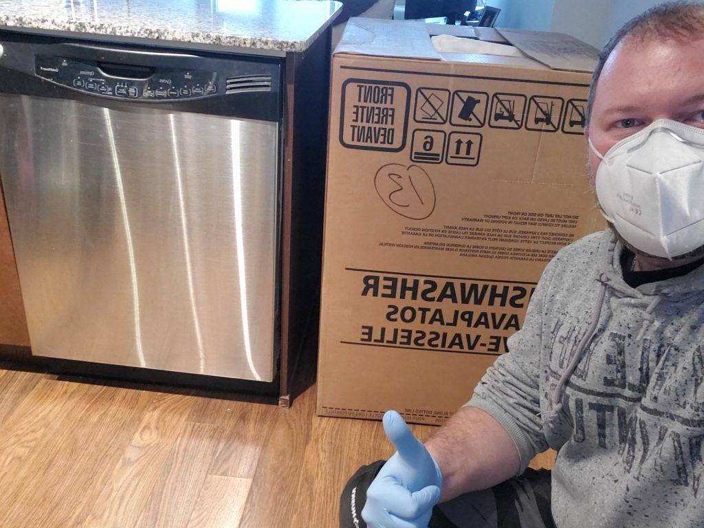 dishwasher installation brampton