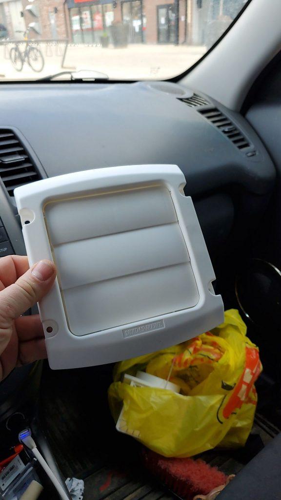 dryer lint trap door replacement toronto