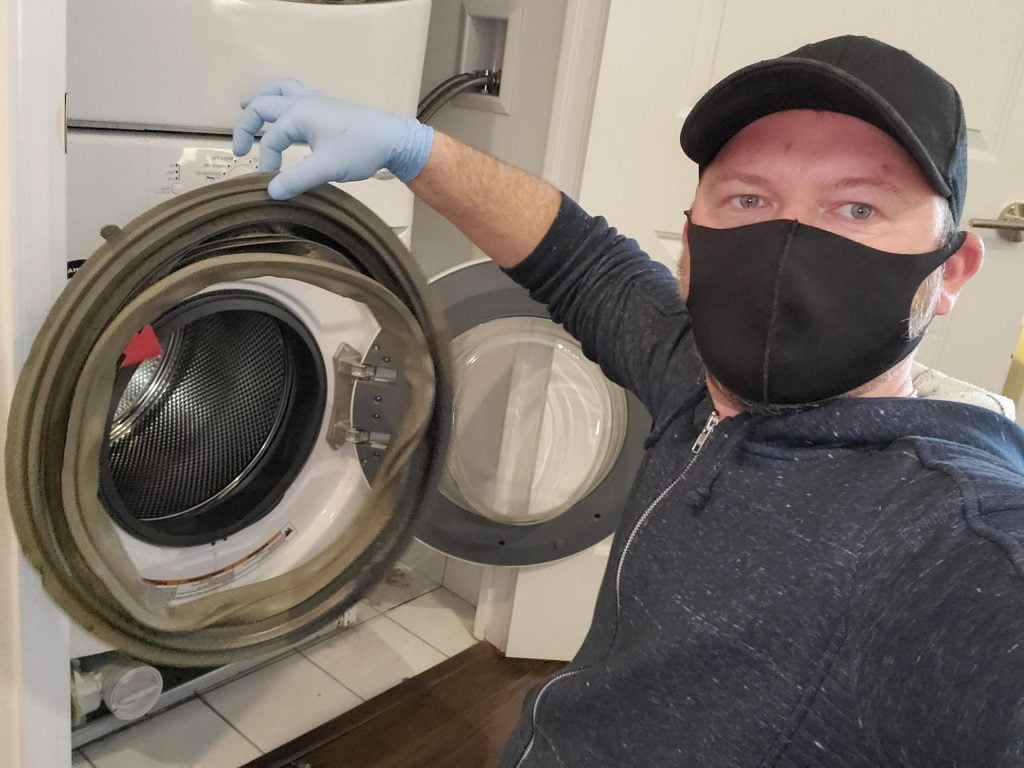 washing machine gasket replacement