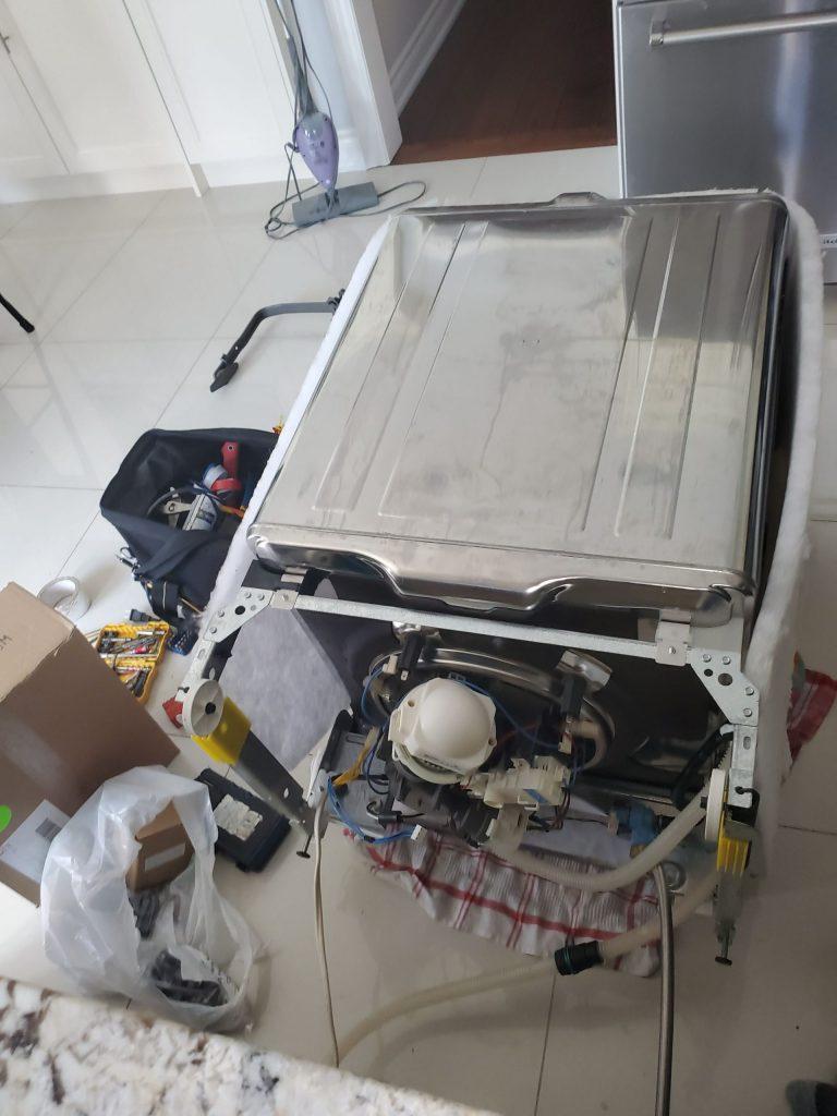 photo of dishwasher repair oakville