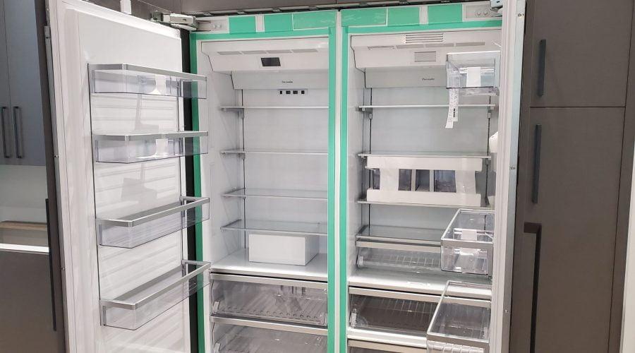 double door build in refrigerator installation vaughan