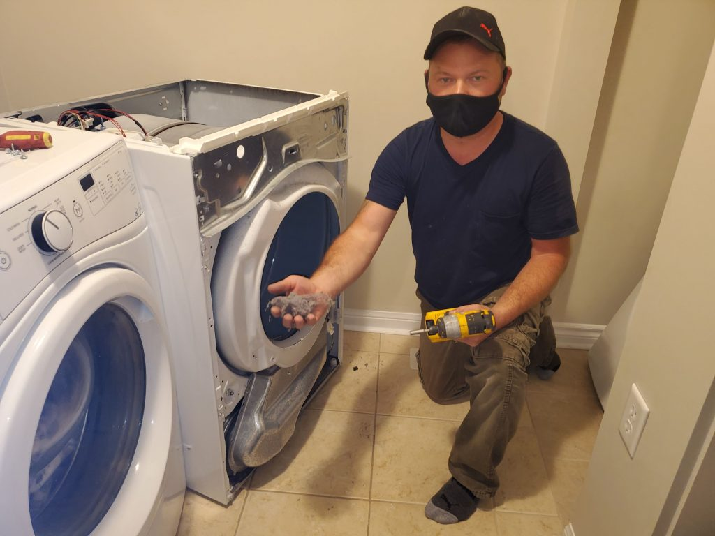 dryer lint removal -  dryer repair service Toronto