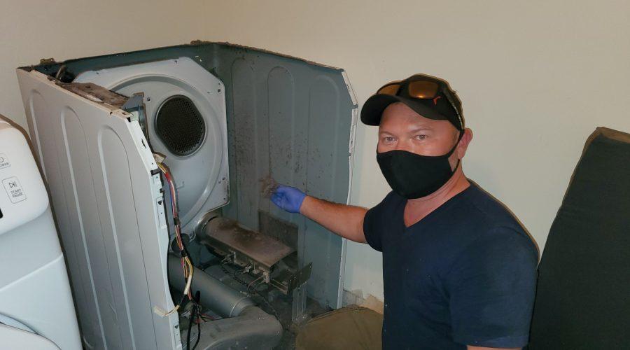 dryer repair by alpha tech appliance brampton