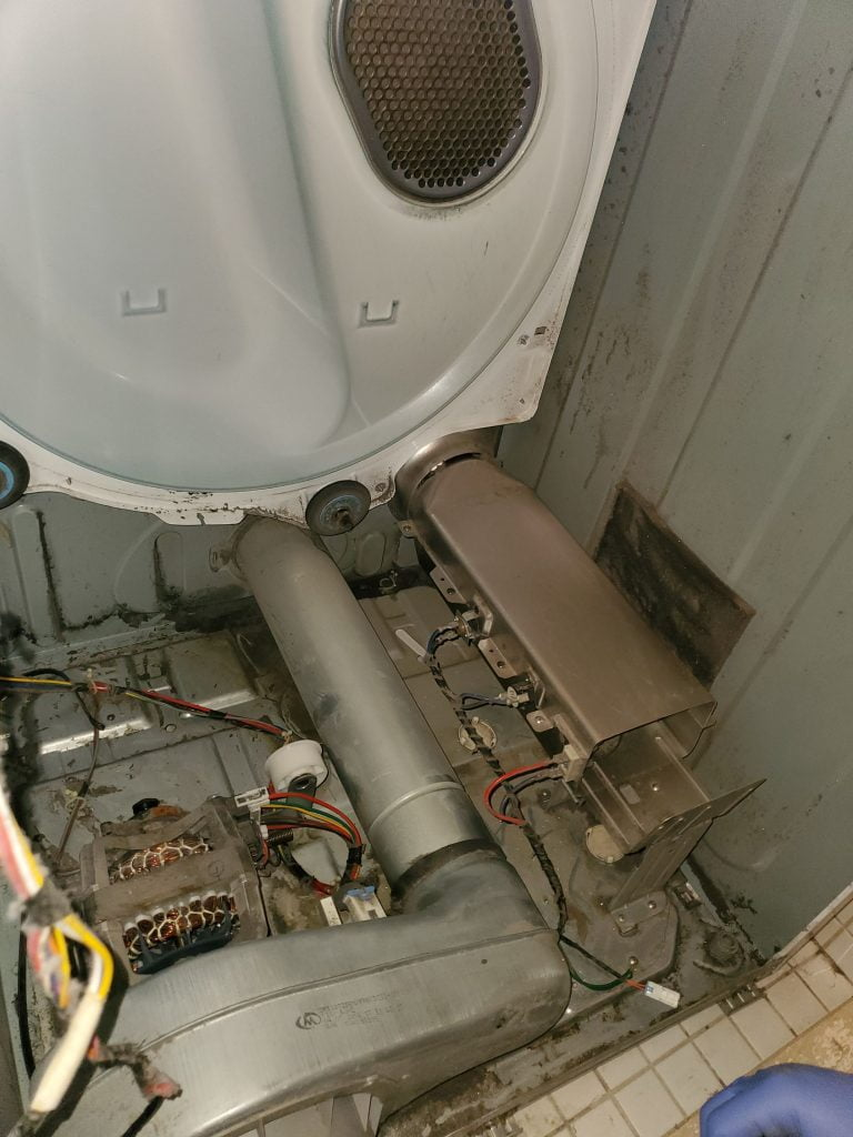 dryer lint removal and cleaning after repair toronto