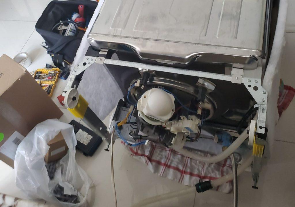 dishwasher pump repair by alpha tech appliance