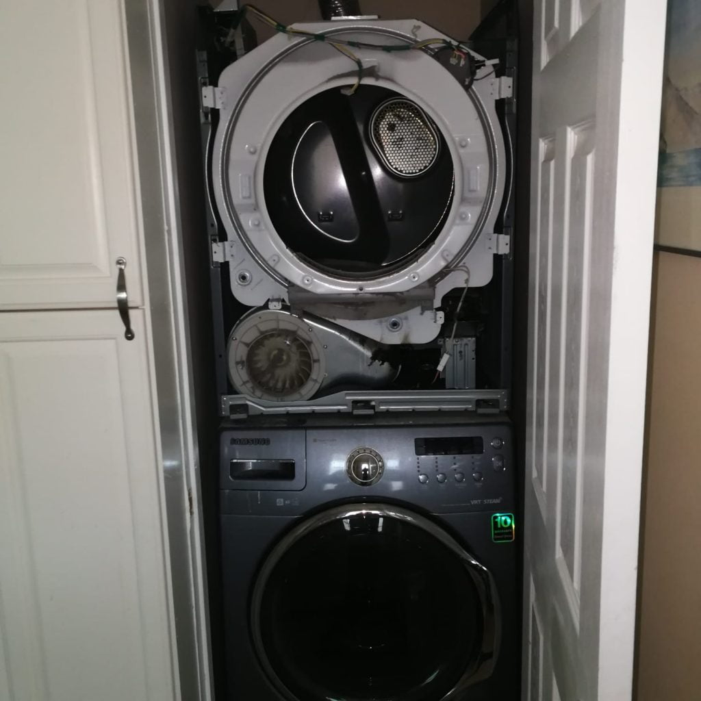 Dryer on Top of Washer Repair Newmarket